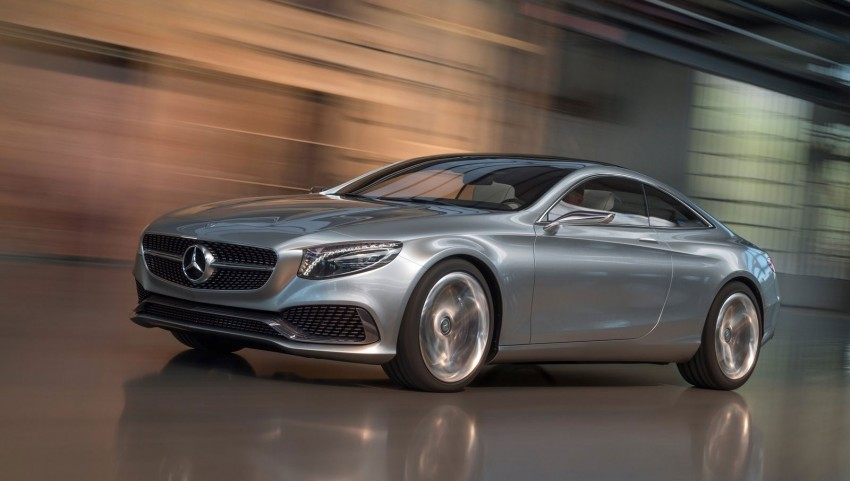 Mercedes-Benz S-Class Coupe Concept makes debut Image #197845