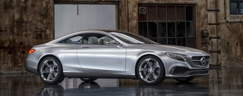 Mercedes-Benz S-Class Coupe Concept makes debut Image #197851