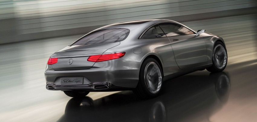 Mercedes-Benz S-Class Coupe Concept makes debut Image #197856