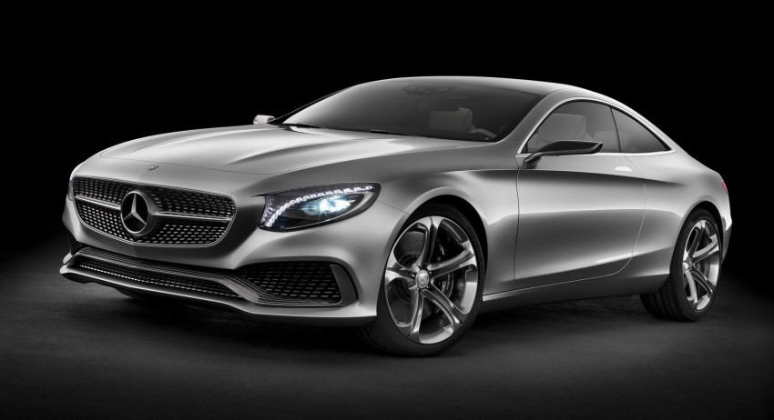 Mercedes-Benz S-Class Coupe Concept makes debut Image #197858