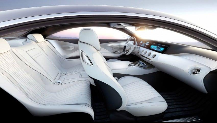 Mercedes-Benz S-Class Coupe Concept makes debut Image #197867