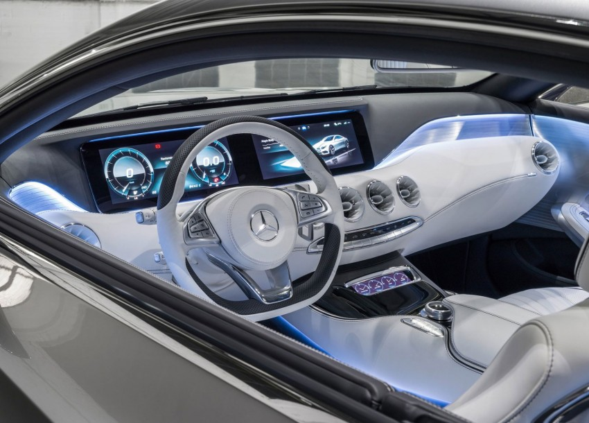 Mercedes-Benz S-Class Coupe Concept makes debut Image #197869