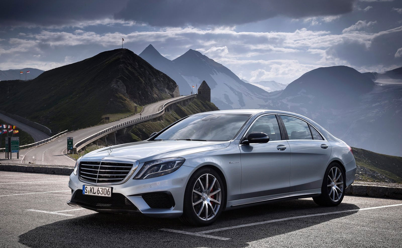 mercedes benz s 63 amg like a boss in austria