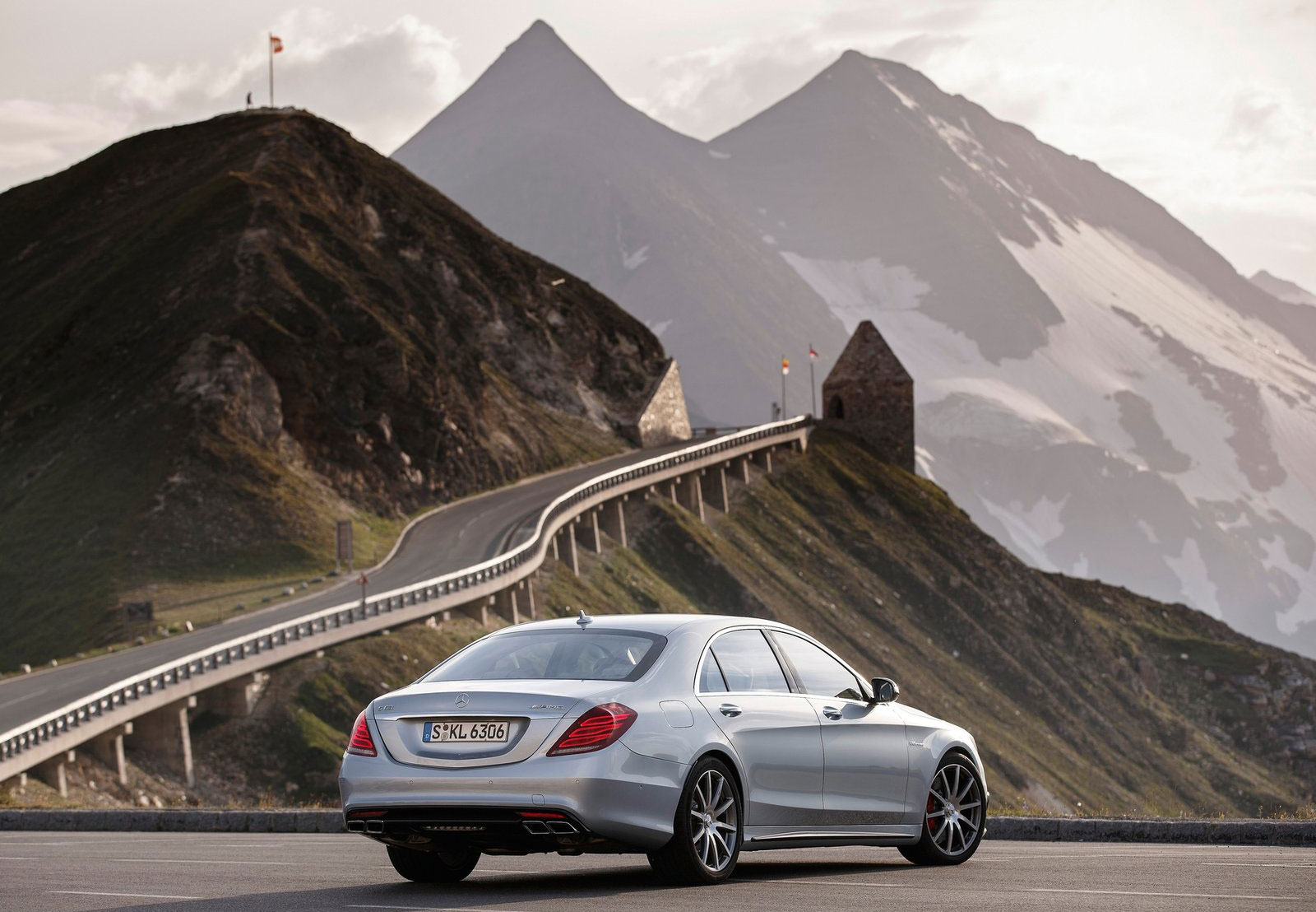Mercedes benz s 63 amg like a boss in austria image 201925 for Mercedes benz austria