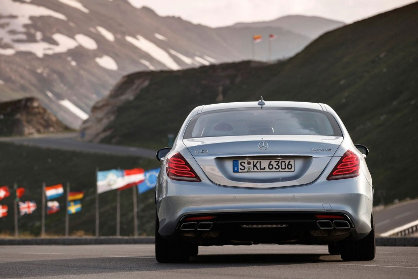 Mercedes benz s 63 amg like a boss in austria paul tan for Mercedes benz austria