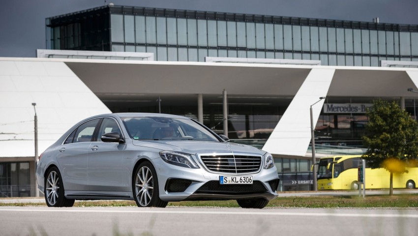 Mercedes benz s 63 amg like a boss in austria image 201938 for Mercedes benz austria
