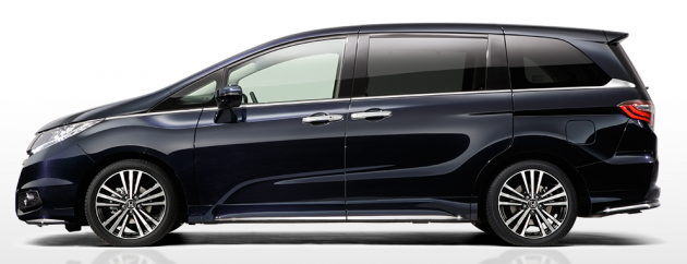 new car release in malaysia 2013New Honda Odyssey MPV  now taller with sliding doors coming to