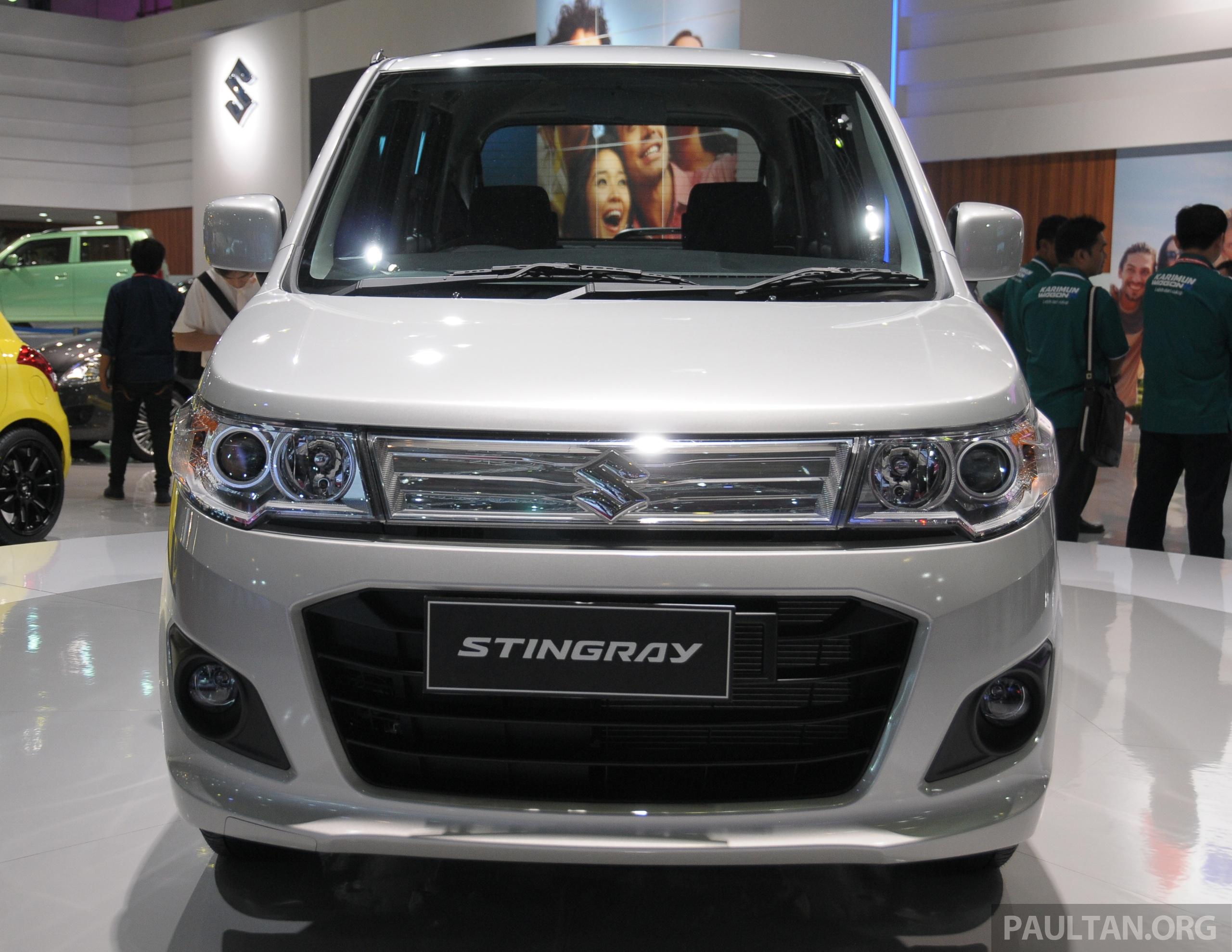 New Suzuki Karimun Wagon R And Stingray At IIMS Paul Tan