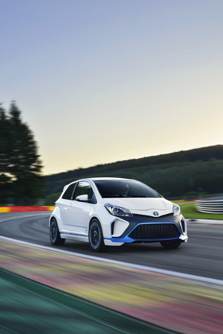 Toyota Yaris Hybrid-R concept – even more details Image #196617