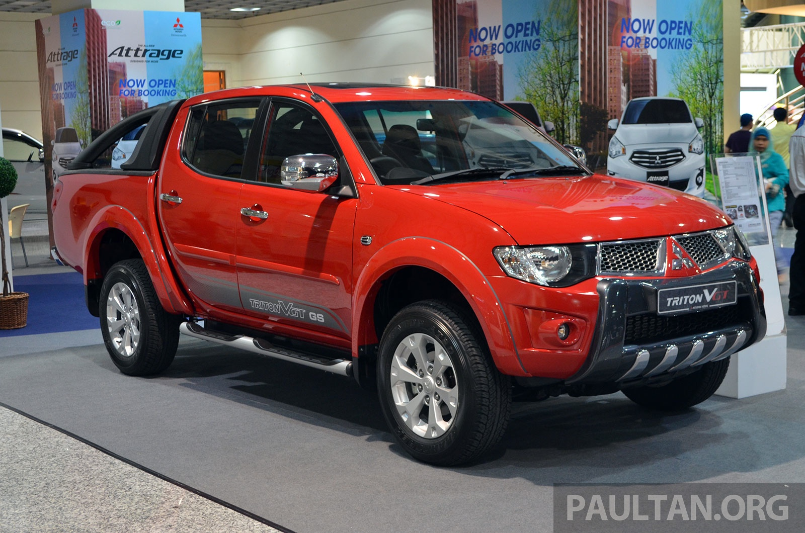 Mitsubishi Triton Vgt Gs And Gl From Under Rm100k Image