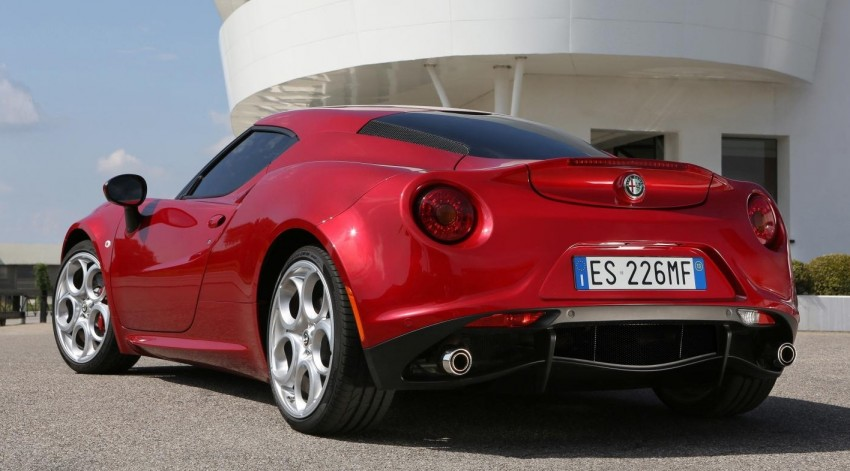 Alfa Romeo 4C – only 3,500 units on the cards Image #199672