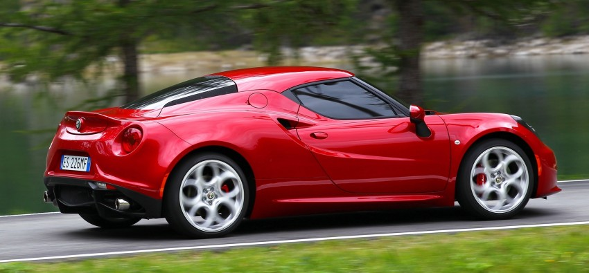 Alfa Romeo 4C – only 3,500 units on the cards Image #199669
