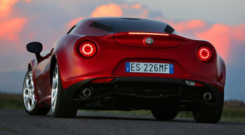 Alfa Romeo 4C – only 3,500 units on the cards Image #199668
