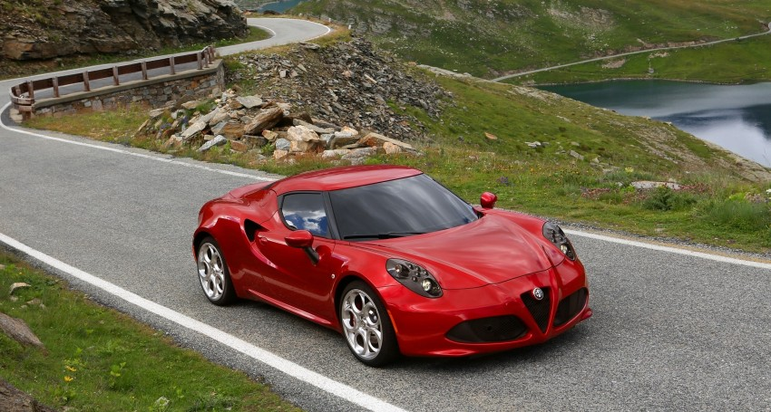 Alfa Romeo 4C – only 3,500 units on the cards Image #199667
