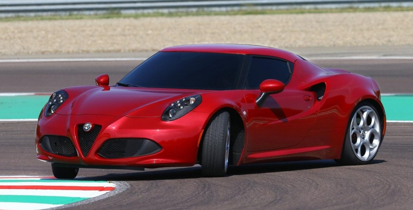 Alfa Romeo 4C – only 3,500 units on the cards Image #199663