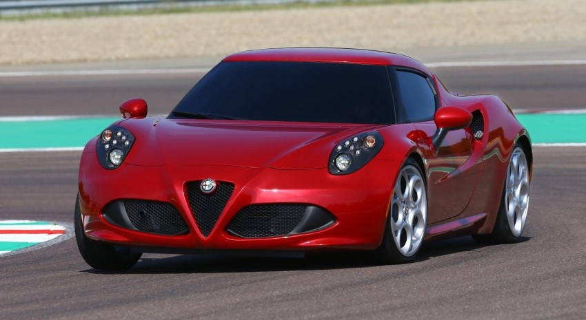 Alfa Romeo 4C – only 3,500 units on the cards Image #199662