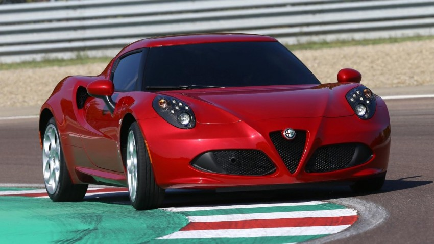 Alfa Romeo 4C – only 3,500 units on the cards Image #199661