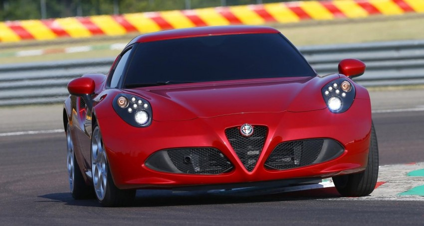 Alfa Romeo 4C – only 3,500 units on the cards Image #199660