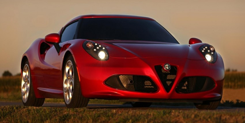 Alfa Romeo 4C – only 3,500 units on the cards Image #199659