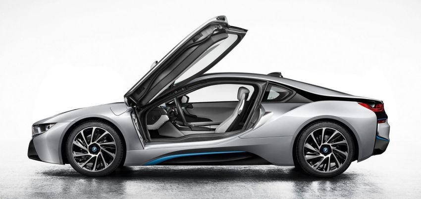 BMW i8 – first leaked photos make their way to the net Image #196561