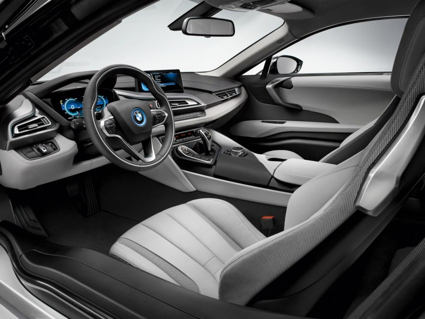 BMW i8 – first leaked photos make their way to the net Image #196562