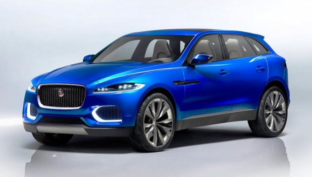 Jaguar C-X17 concept crossover officially unveiled in ...