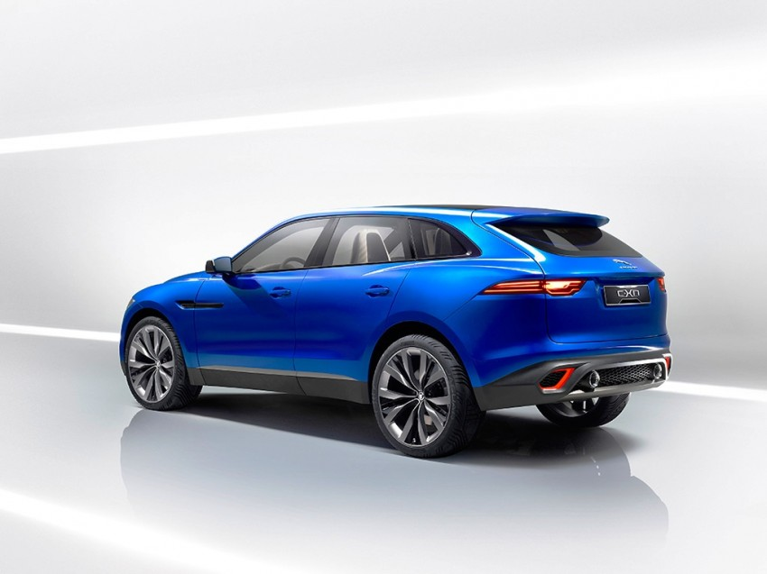 Jaguar C-X17 concept fully unveiled in Frankfurt Image #197543