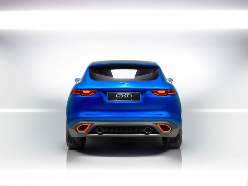 Jaguar C-X17 concept fully unveiled in Frankfurt Image #197547