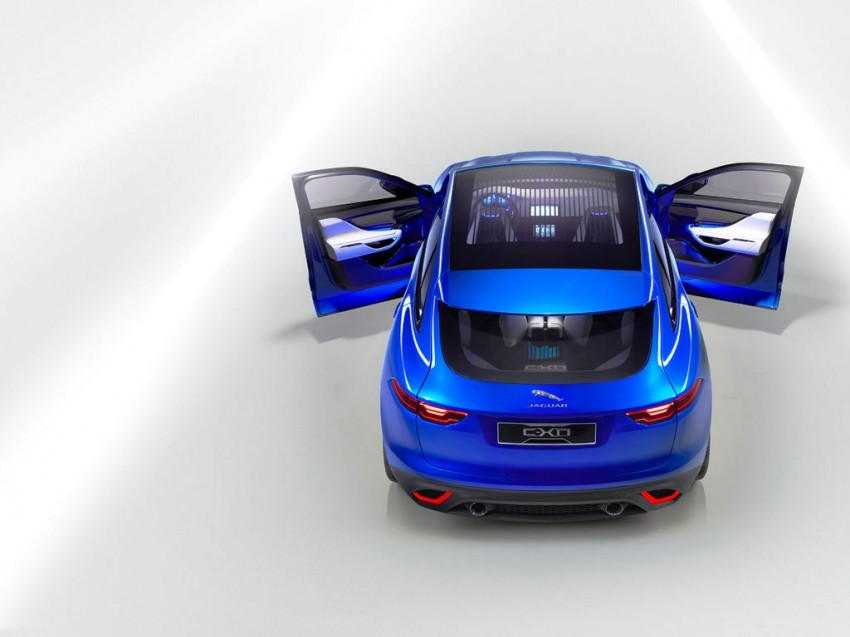 Jaguar C-X17 concept fully unveiled in Frankfurt Image #197551