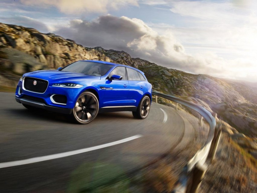 Jaguar C-X17 concept fully unveiled in Frankfurt Image #197571
