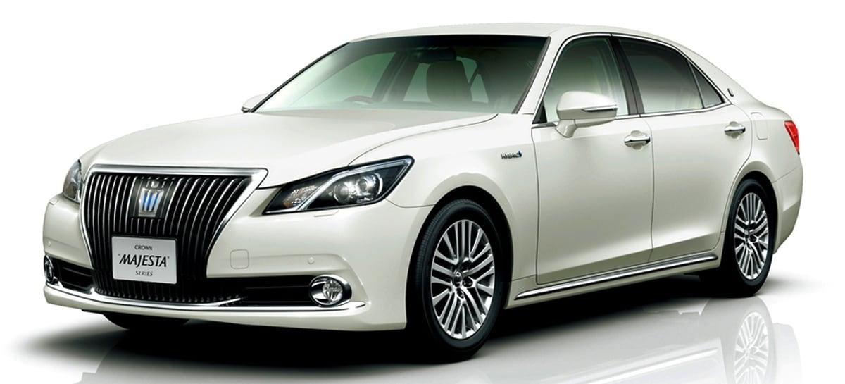 2013 Toyota Crown Majesta 3 5l Hybrid Introduced