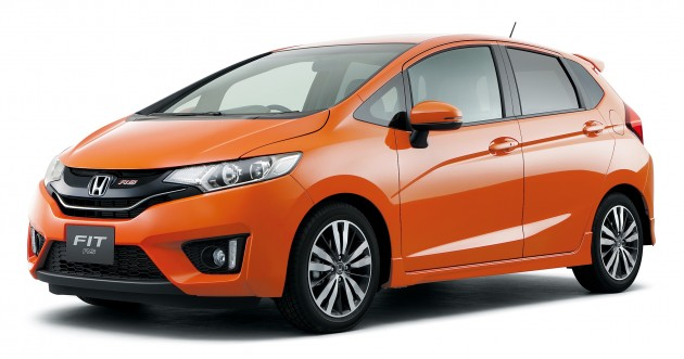 2014 Honda Jazz aka Fit launched in Japan - full details