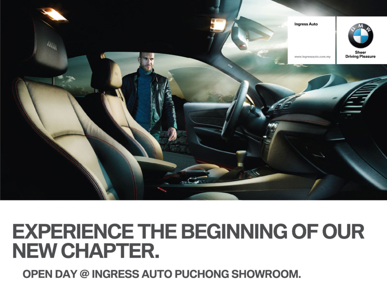 ingress auto to open its brand new bmw dealership in puchong this sunday with prizes to be won. Black Bedroom Furniture Sets. Home Design Ideas