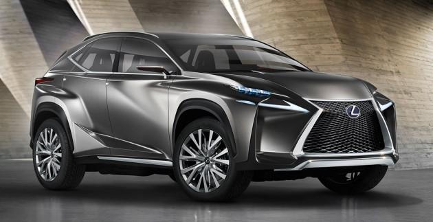 Lexus Lf Nx >> Lexus Lf Nx Previews Upcoming Compact Suv
