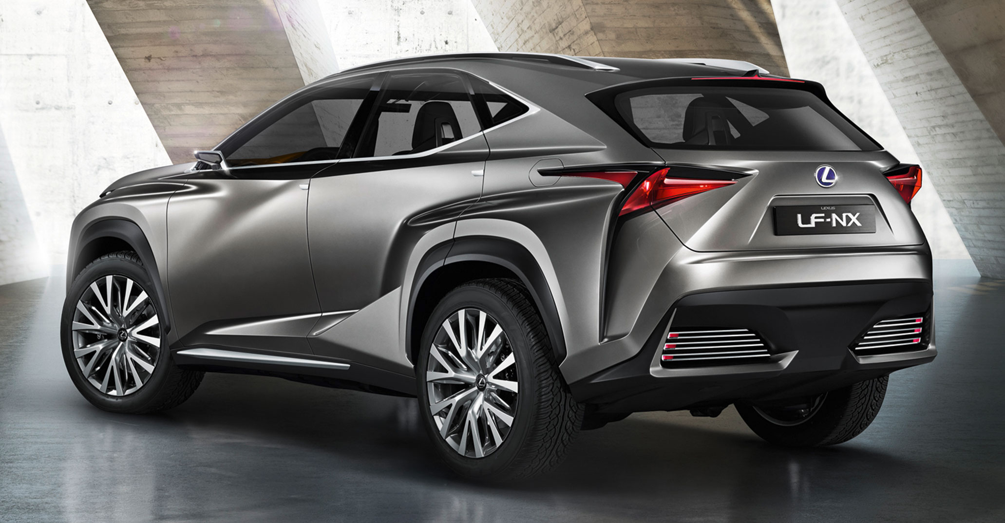 Lexus LF-NX previews upcoming compact SUV Image 196484
