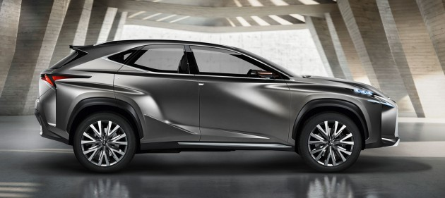 Lexus LF-NX previews upcoming compact SUV
