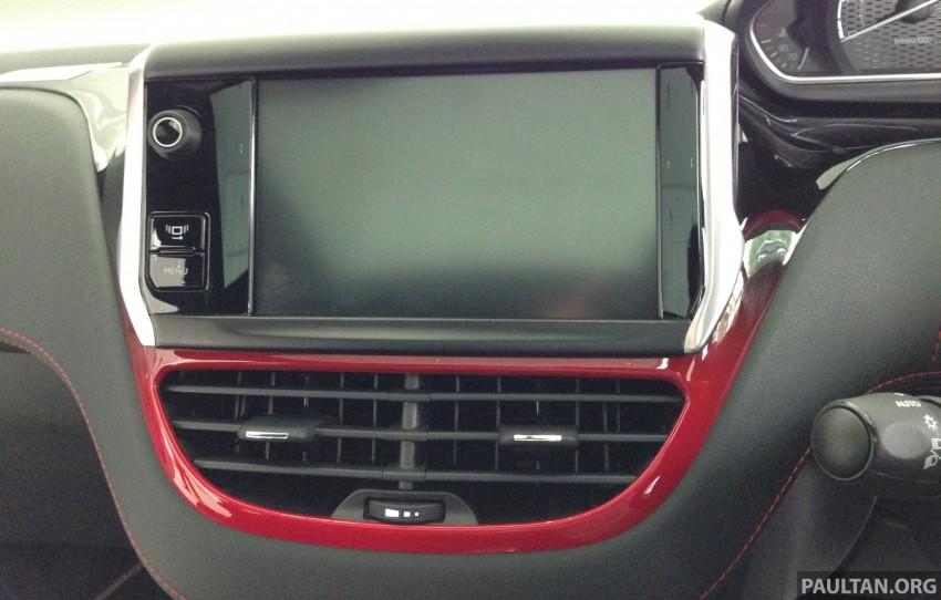 Peugeot 208 GTi on display in Blue Box Glenmarie Image #201421