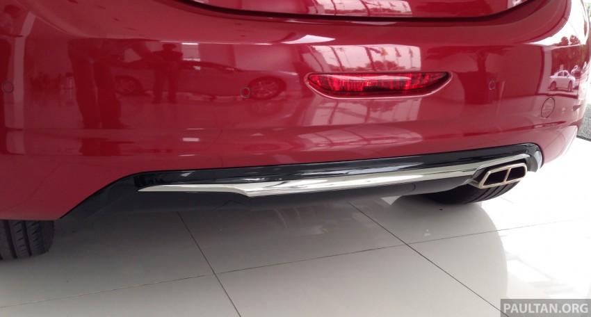 Peugeot 208 GTi on display in Blue Box Glenmarie Image #201413