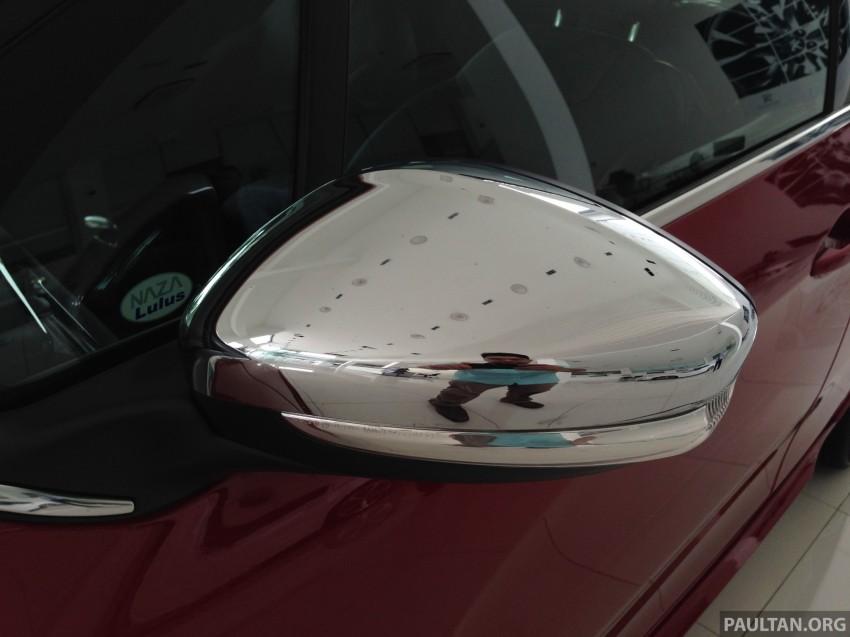 Peugeot 208 GTi on display in Blue Box Glenmarie Image #201404