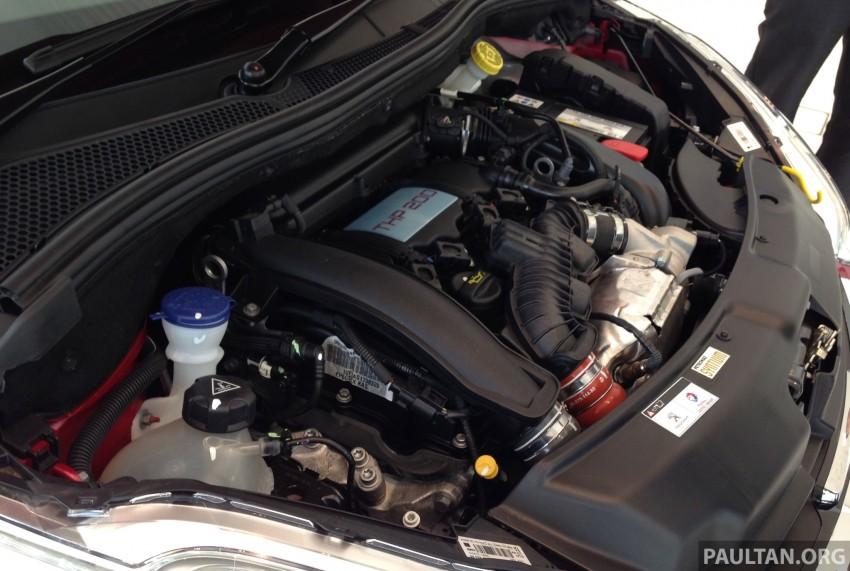 Peugeot 208 GTi on display in Blue Box Glenmarie Image #201434