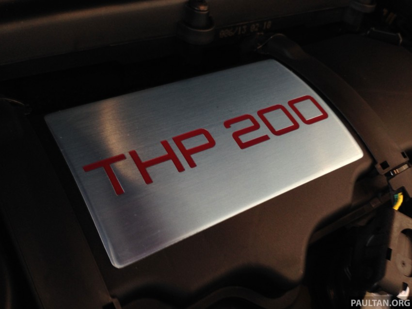 Peugeot 208 GTi on display in Blue Box Glenmarie Image #201430
