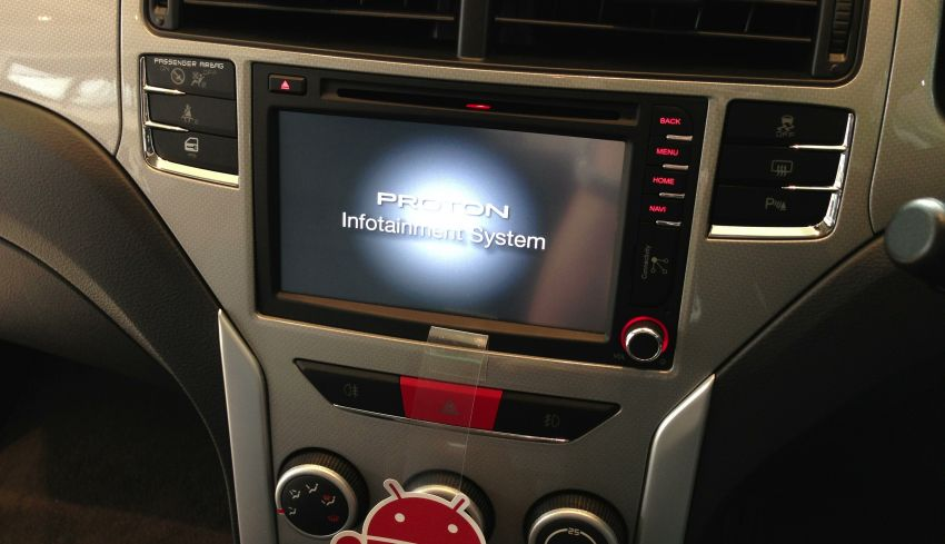 Proton Suprima S – infotainment system tested Image #195759