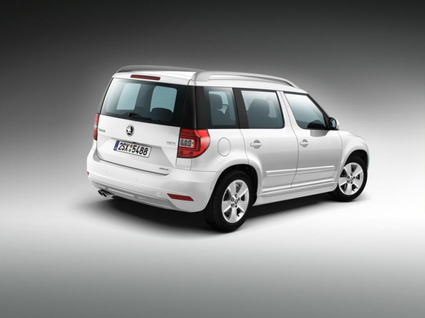 Skoda Yeti facelift turns up at the Frankfurt show Image #198495
