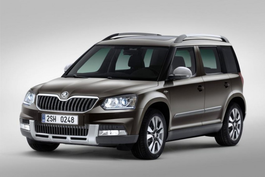 Skoda Yeti facelift turns up at the Frankfurt show Image #198506