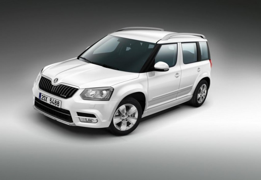 Skoda Yeti facelift turns up at the Frankfurt show Image #198494