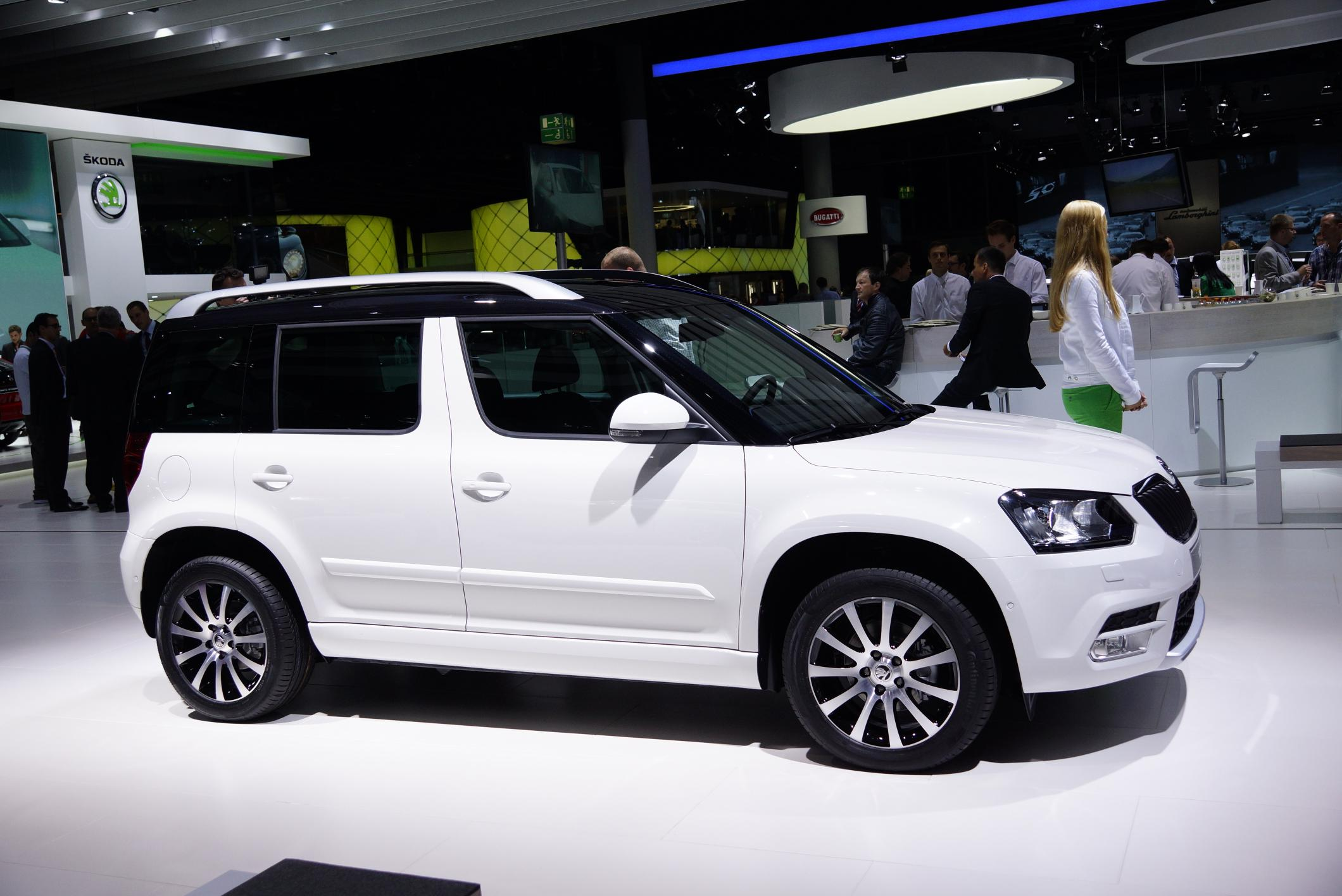 skoda yeti facelift debuts in frankfurt available in outdoor version. Black Bedroom Furniture Sets. Home Design Ideas