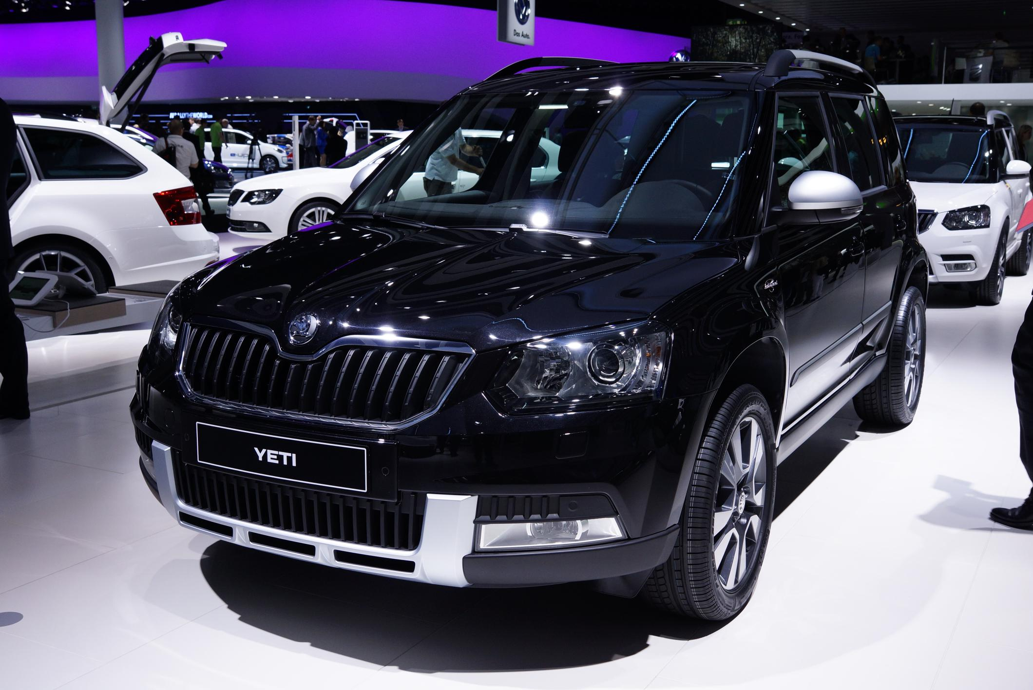 2013 skoda yeti facelift autos post. Black Bedroom Furniture Sets. Home Design Ideas