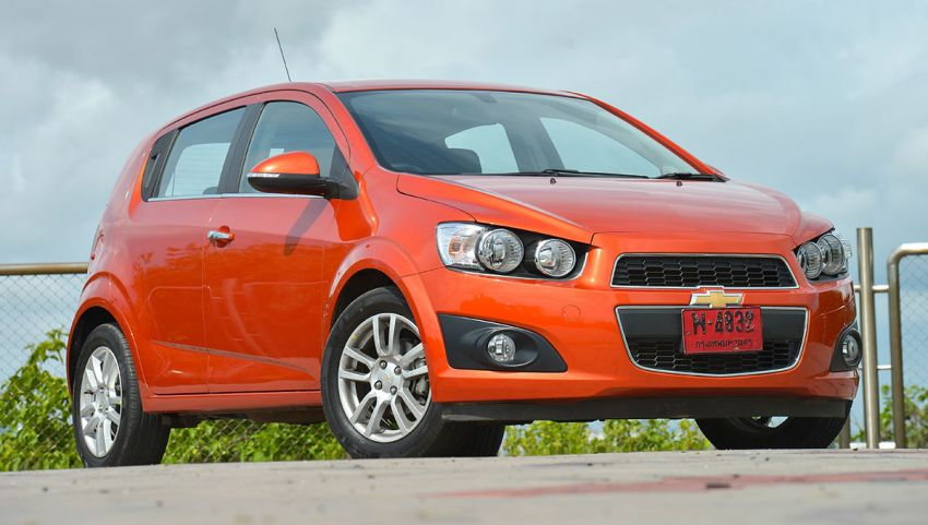Chevrolet Sonic gets 1.6 litre E85 engine in Thailand Image #199057