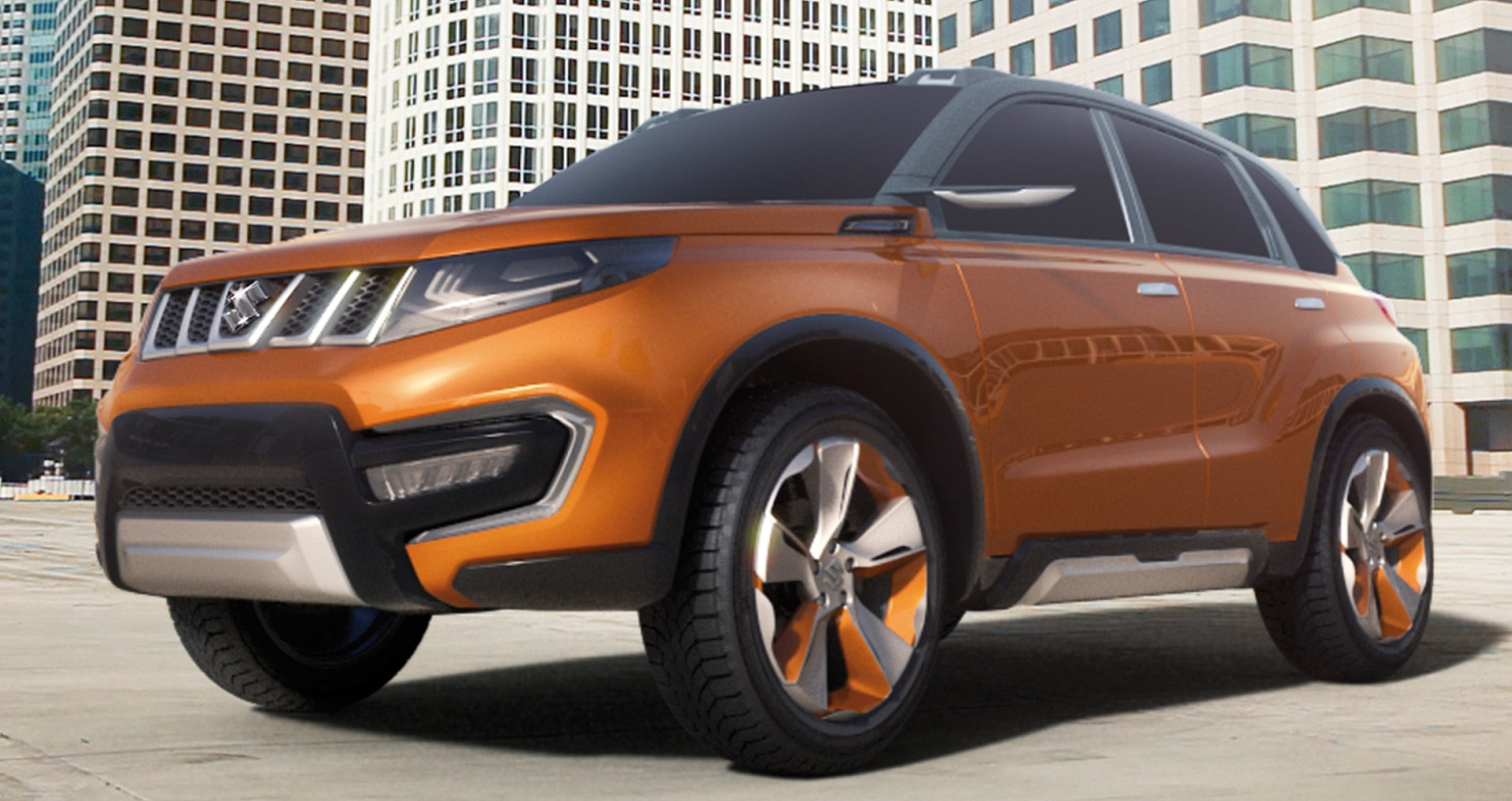 Suzuki iV-4 compact SUV concept debuts in Frankfurt Paul Tan - Image ...