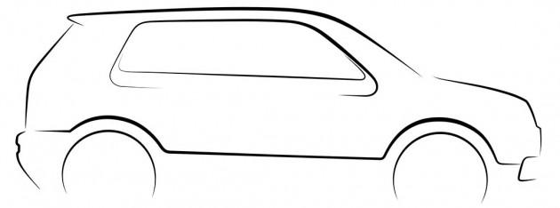 tum ev line drawing